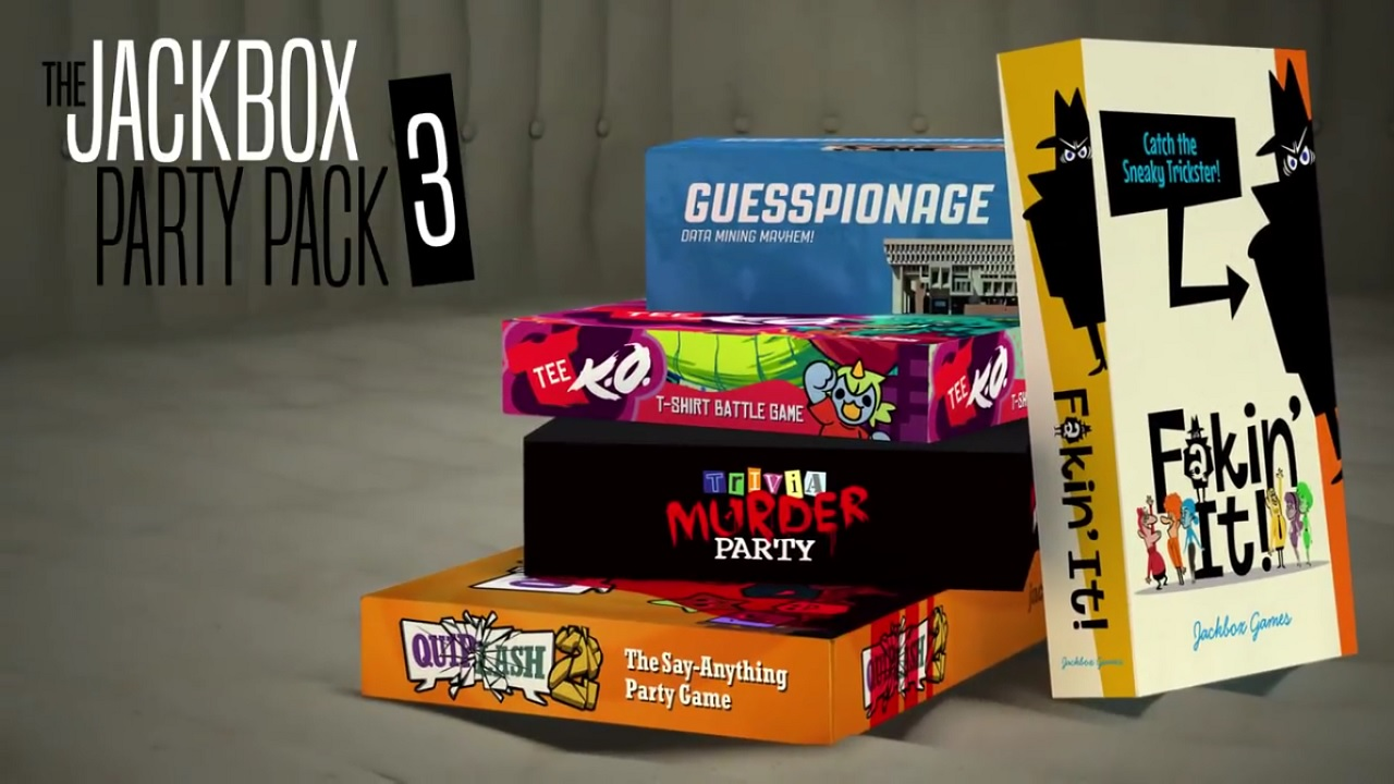 "The Jackbox Party Pack 3 is Headed to the Switch ""Soon ..."