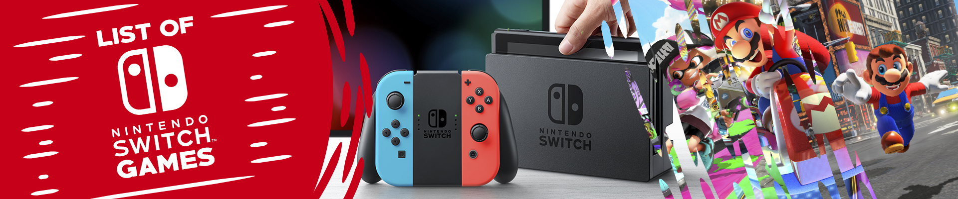 List Of Nintendo Switch Games Switch Player