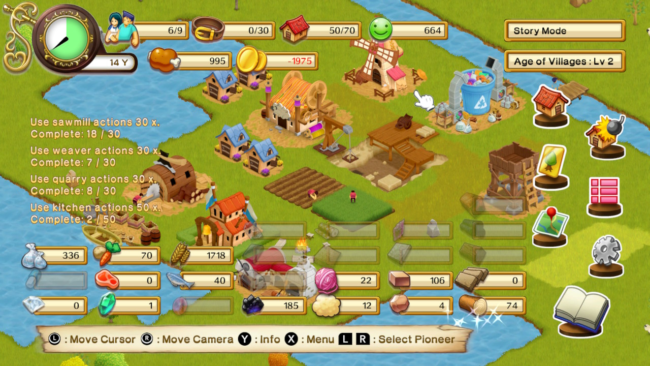 New Frontier Days Founding Pioneers Review Switch Player