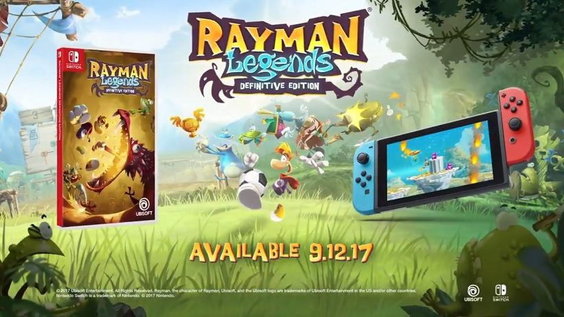 Rayman Legends Definitive Edition Confirmed For Mid September Demo Returning This Summer Switch Player