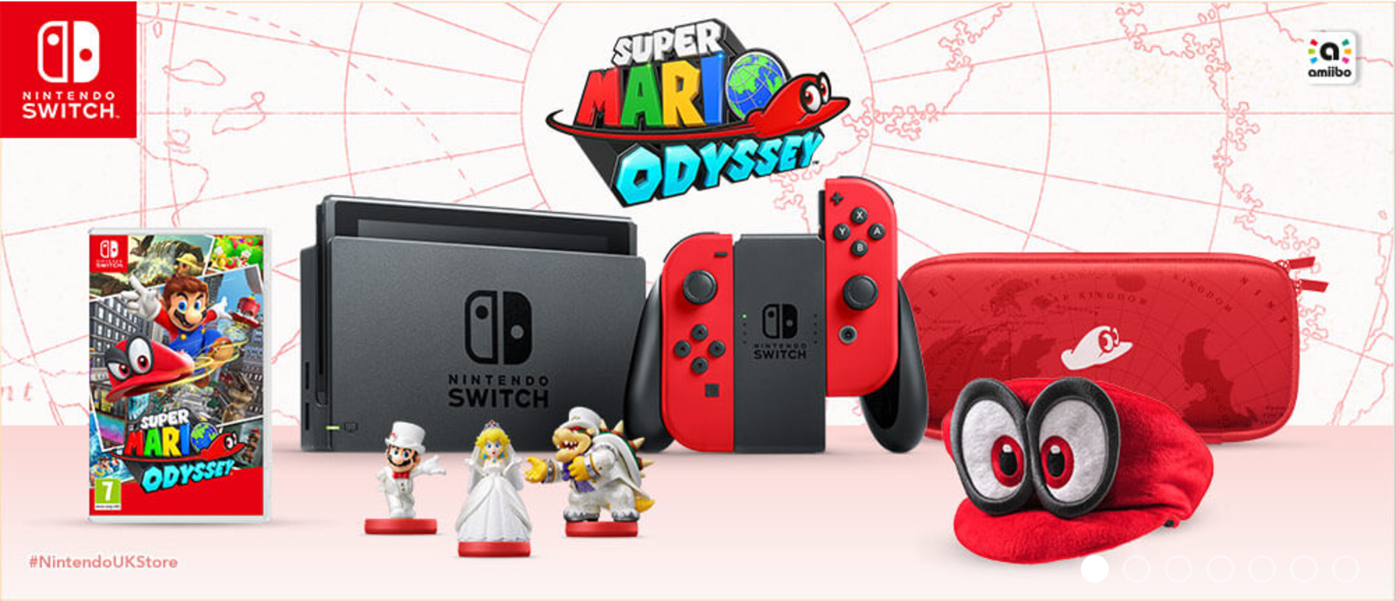 New Super Mario Odyssey Info And Goodies Revealed Switch