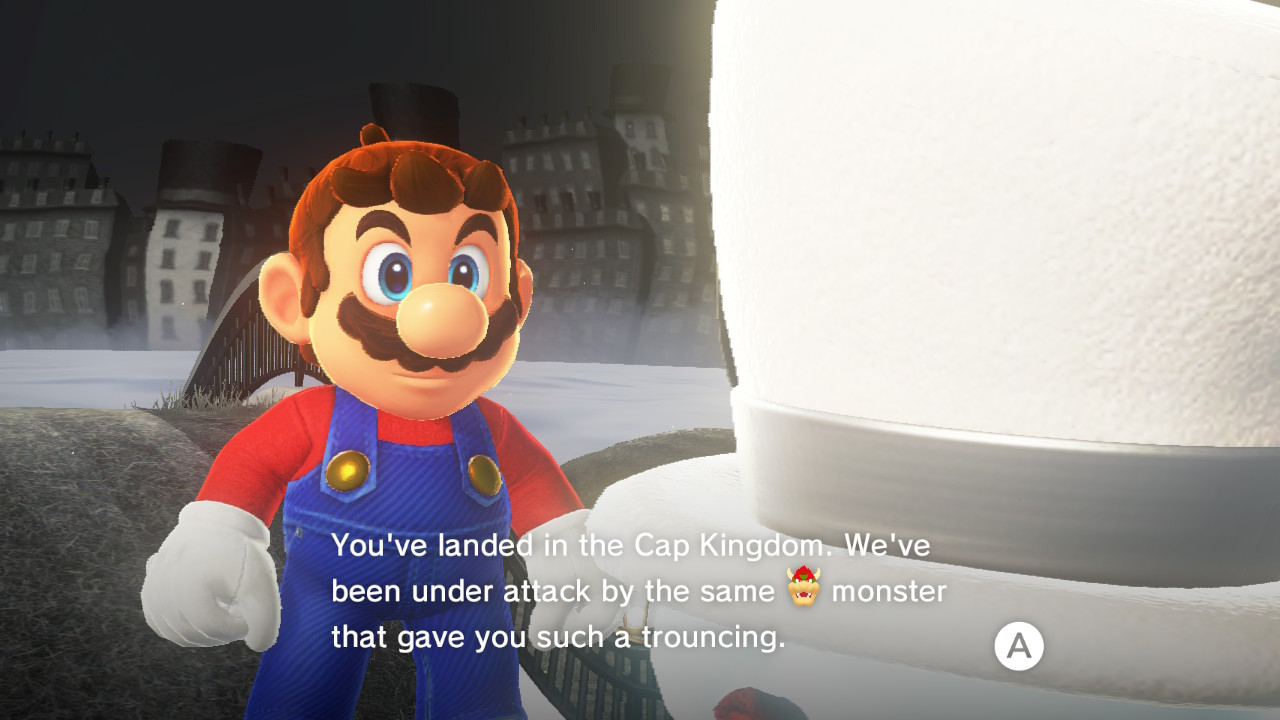 Super Mario Odyssey Review Switch Player
