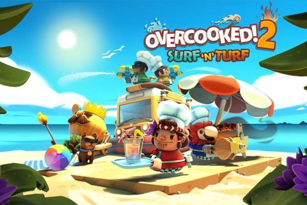 Overcooked 2 Surf 'n' Turf