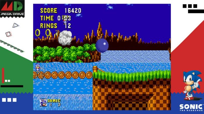 Sega Ages Sonic The Hedgehog Review Switch Player