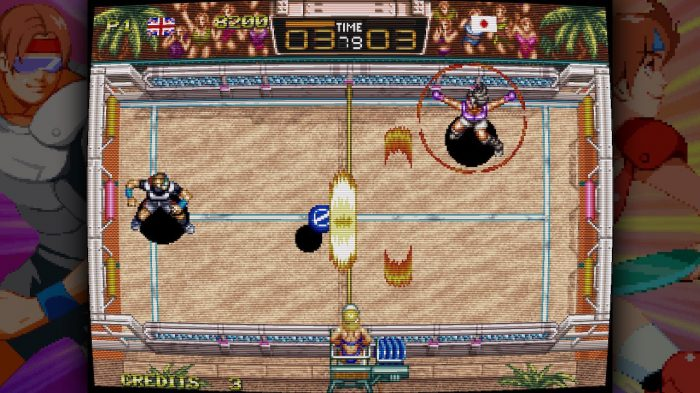 Windjammers Review | Switch Player