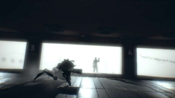 Players control several devices within the puzzler, 7th Sector