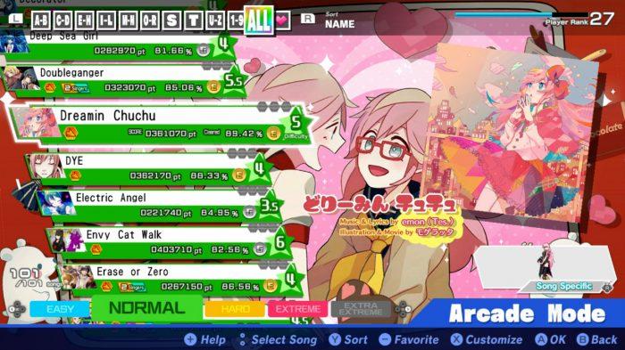 Hatsune Miku: Project DIVA Megamix Screenshot