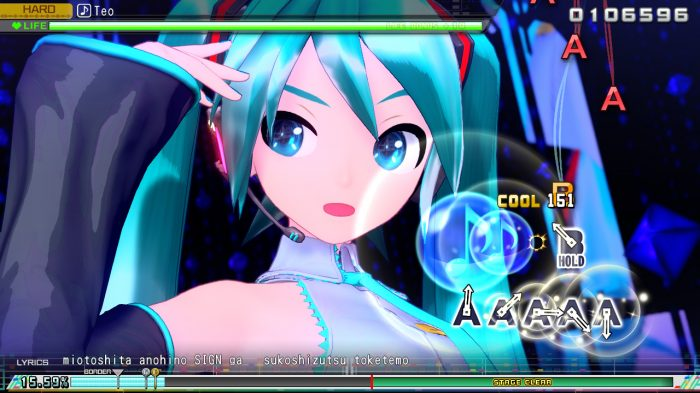 Hatsune Miku: Project DIVA Megamix Screenshot