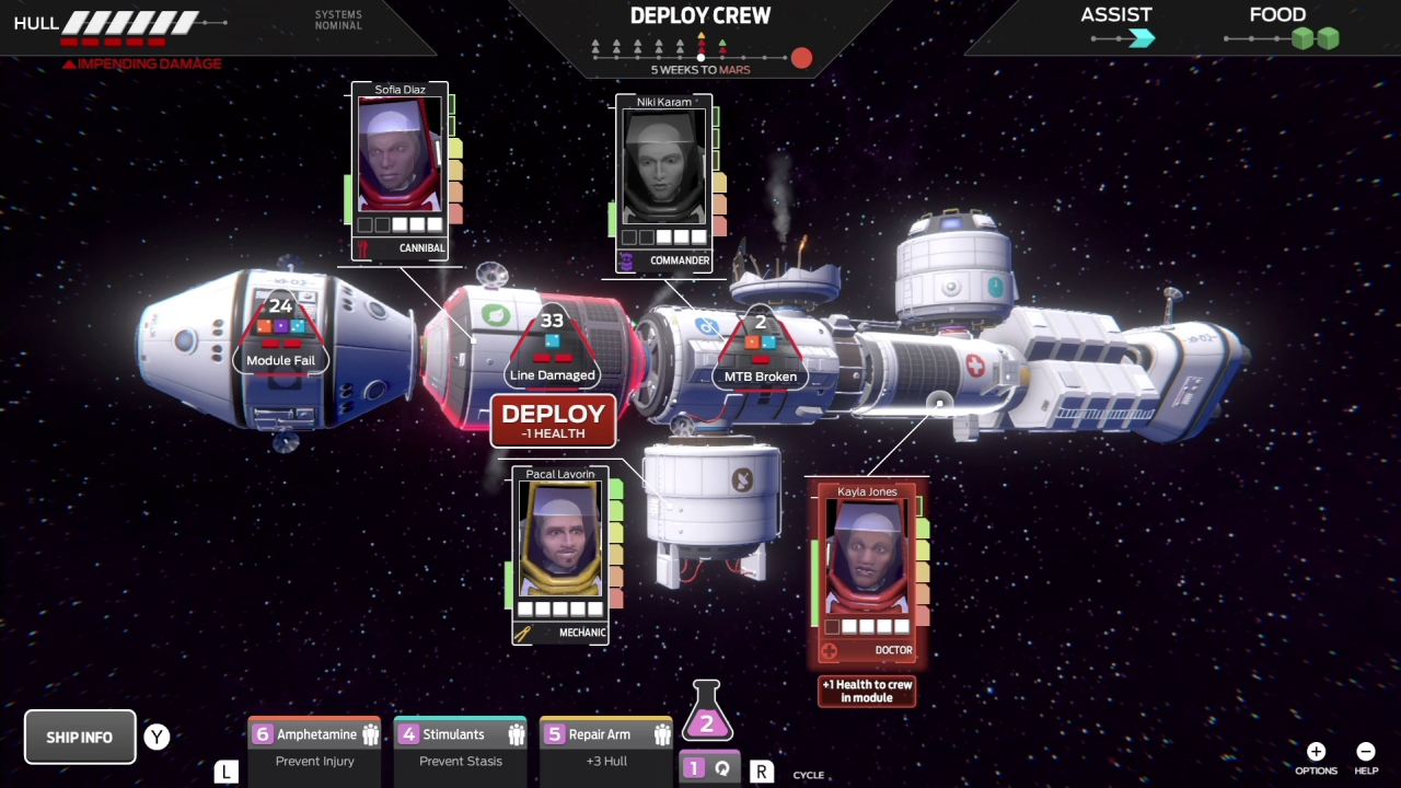 Tharsis Review