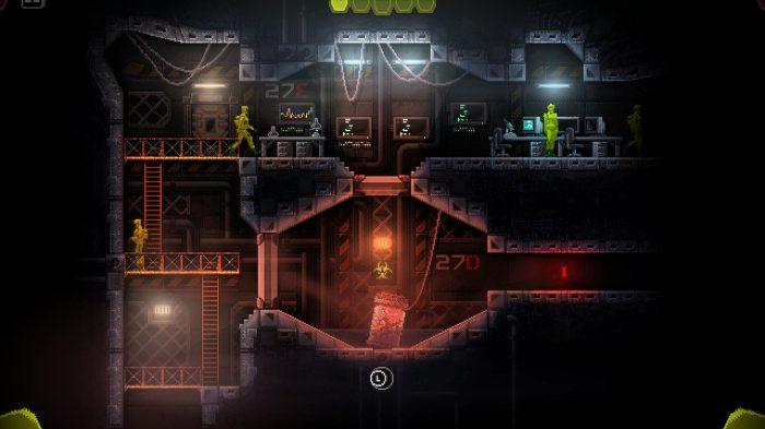 Carrion Nintendo Switch Gameplay Screenshot