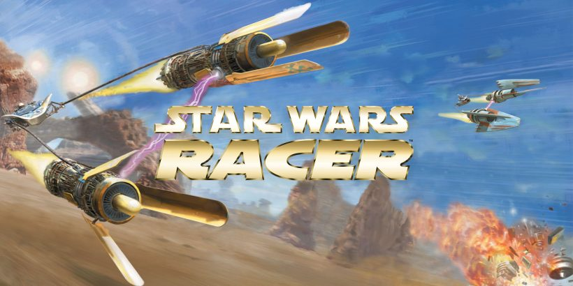 Star Wars Episode 1: Racer Title Screen