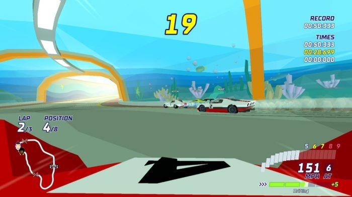 Hotshot Racing Nintendo Switch Gameplay Screenshot
