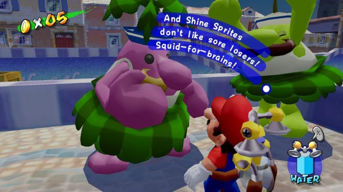 Super Mario 3D All Stars Super Mario Sunshine Gameplay Screenshot