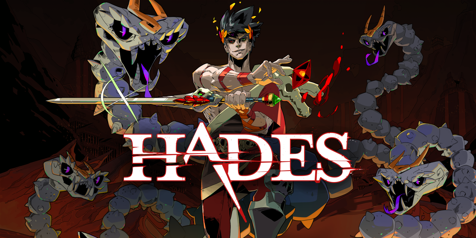 Hades Nintendo Switch Title Screen