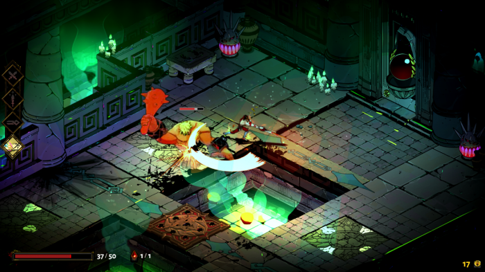 Hades Nintendo Switch Gameplay Screenshot