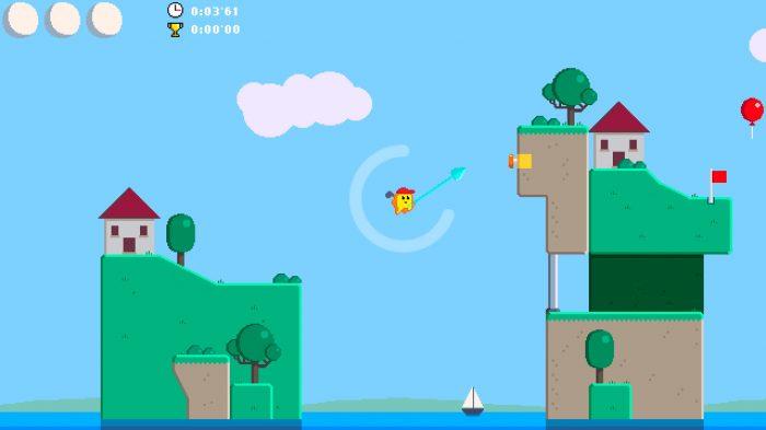 Golf Zero Nintendo Switch Gameplay Screenshot