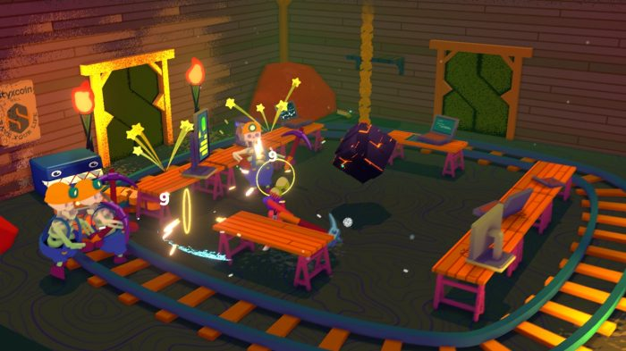 Going Under Nintendo Switch Gameplay Screenshot