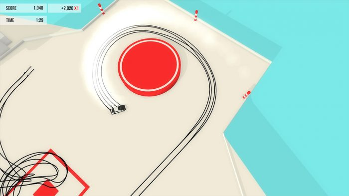 Absolute Drift: Zen Edition Nintendo Switch Gameplay Screenshot