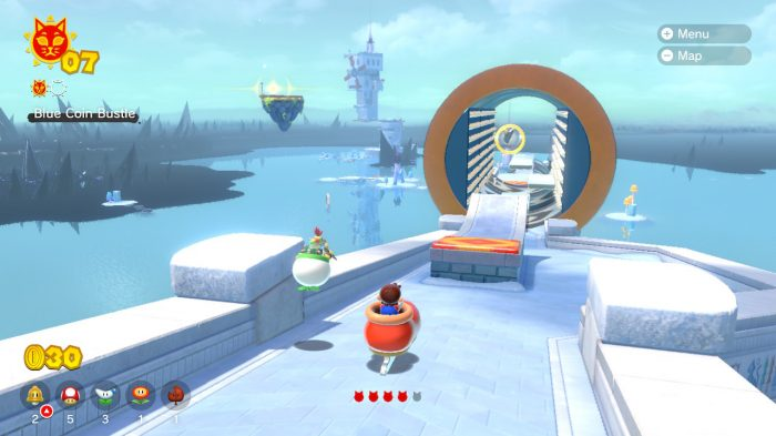 Super Mario 3D World Nintendo Switch Gameplay Screenshot