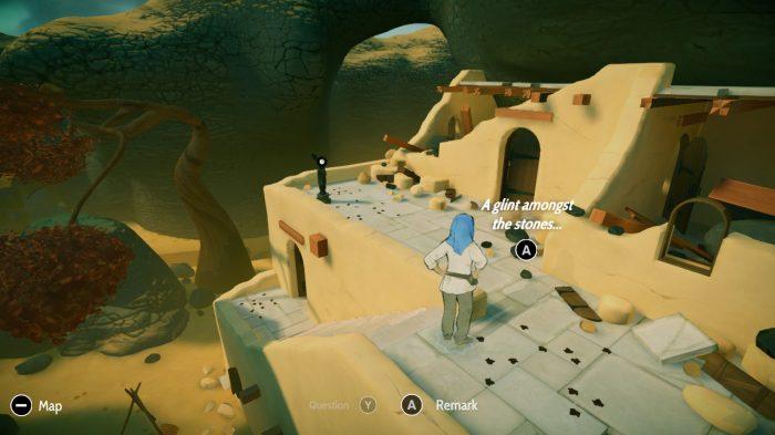 Heaven's Vault Nintendo Switch Gameplay Screenshot