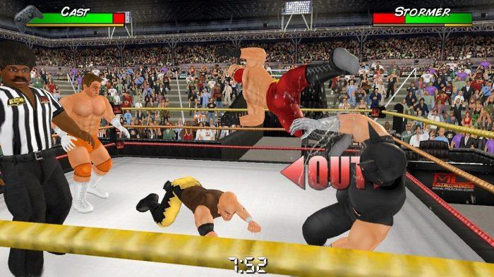 Wrestling Empire Nintendo Switch Gameplay Screenshot