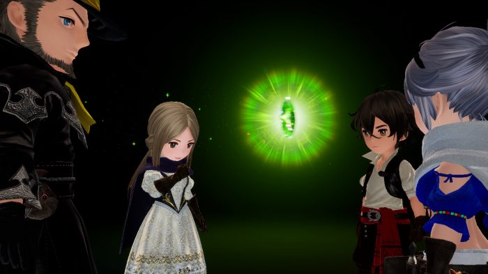 Nintendo Switch Bravely Default II Gameplay Screenshot