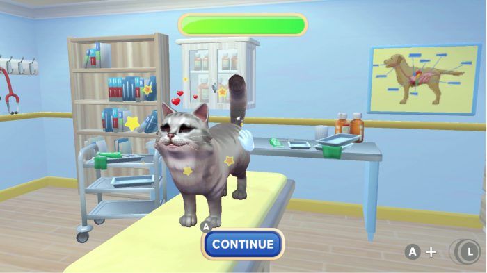 my universe - pet clinic cats and dogs nintendo switch