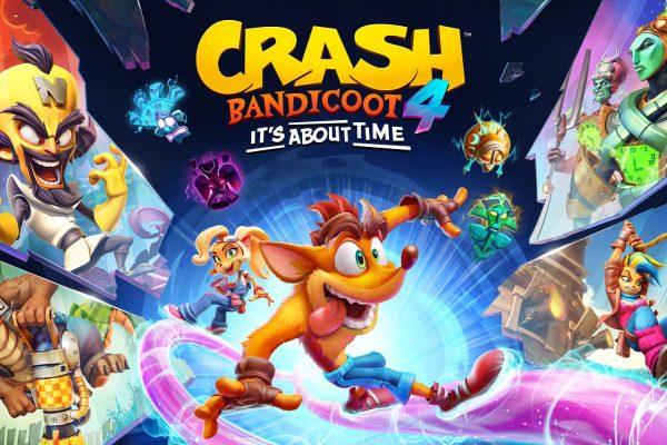 Crash Bandicoot 4: It's About Time Key Art