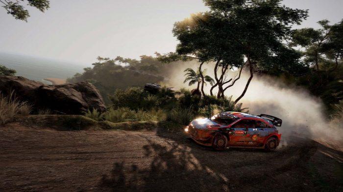 WRC 9 FIA World Rally Championship Nintendo Switch Gameplay Screenshot