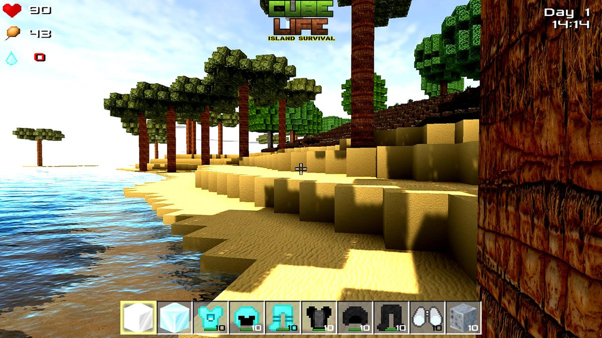 Cube Life: Island Survival HD - An Early Look
