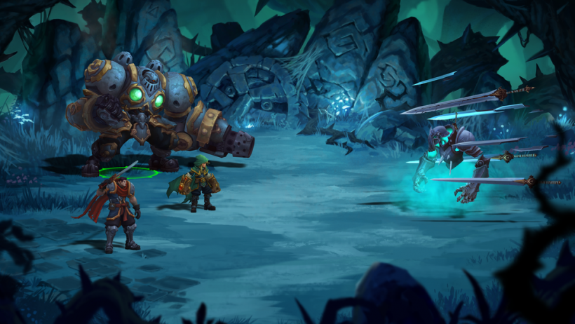 New Nintendo Switch Trailer For Battle Chasers Nightwar Switch
