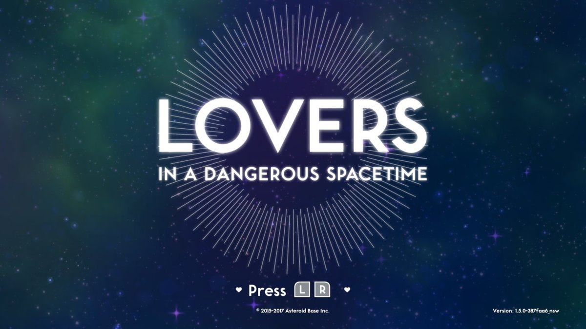 Lovers In A Dangerous Spacetime Review Switch Player