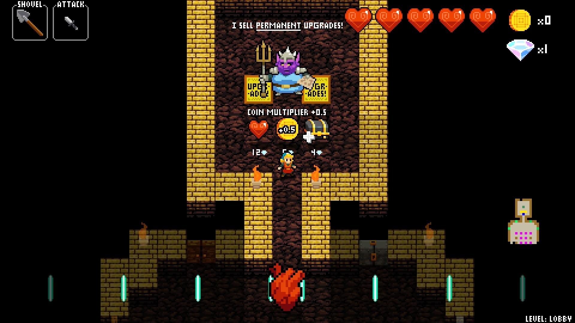 Crypt of the NecroDancer review dragon