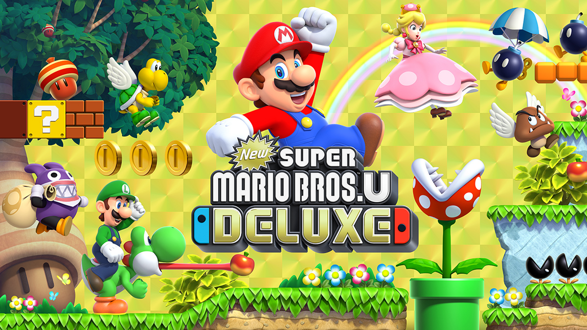 New Super Mario Bros U Deluxe Review Switch Player