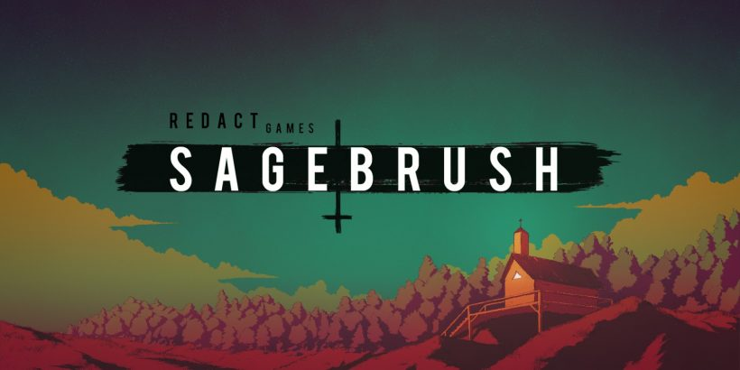 The title screen of Sagebrush
