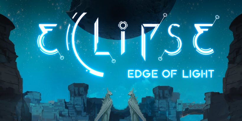 The title screen of Eclipse: Edge of Light