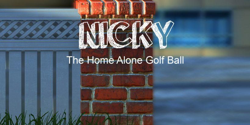 Nicky The Home Alone Adventure Splash Screen