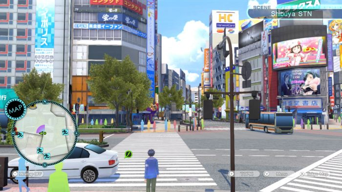 Tokyo Mirage Sessions Setting