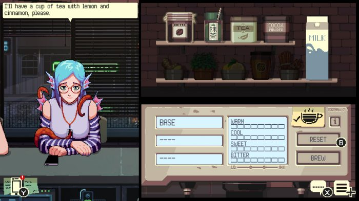 Coffee Talk Game Screenshot