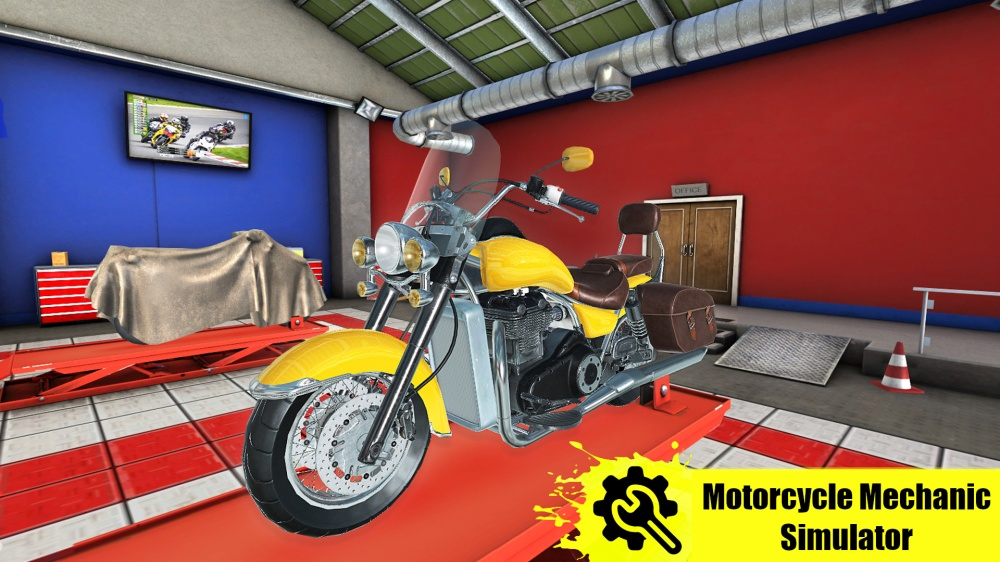 Motorcycle Mechanic Simulator