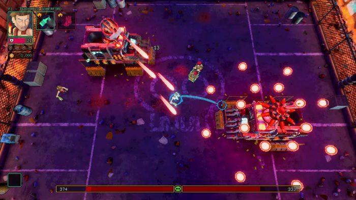 HyperParasite Gameplay Screenshot