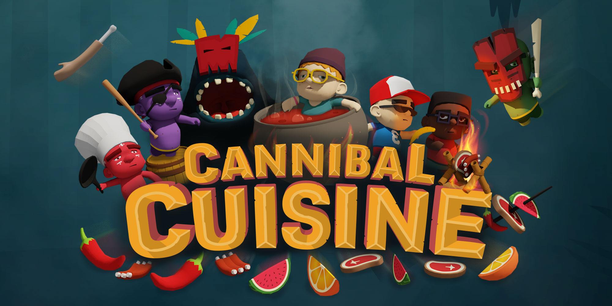 Cannibal Cuisine Hero image