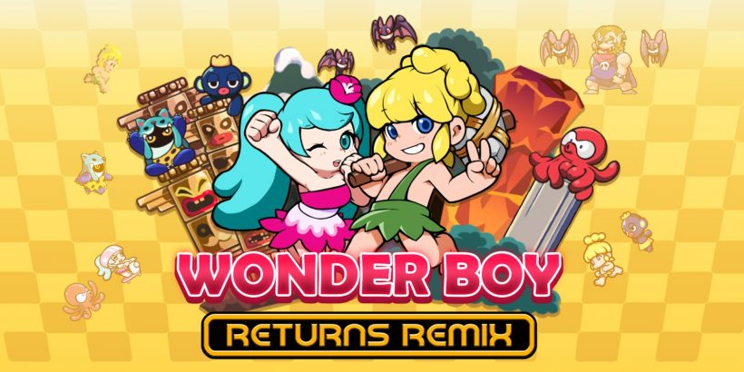 Wonder Boy Returns Remix Hero Image