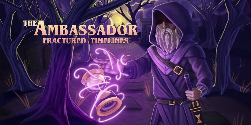 The Ambassador: Fractured Timelines Nintendo Switch Title Screen