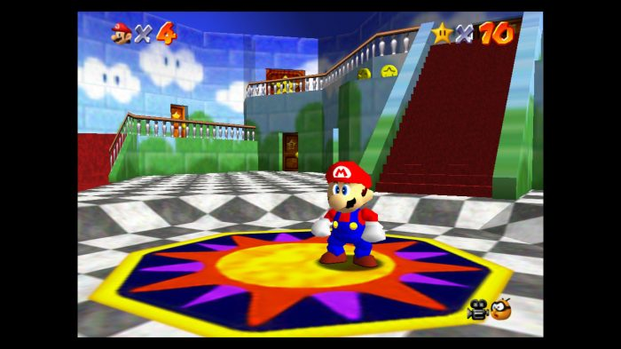 Super Mario 3D All Stars Super Mario 64 Gameplay Screenshot