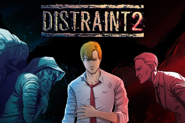Distraint 2 Nintendo Switch Title Art
