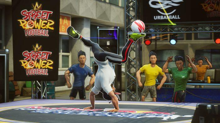 Nintendo Switch Street Power Footbal