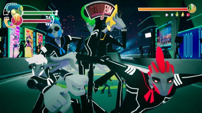 No Straight Roads Nintendo Switch Gameplay Screenshot