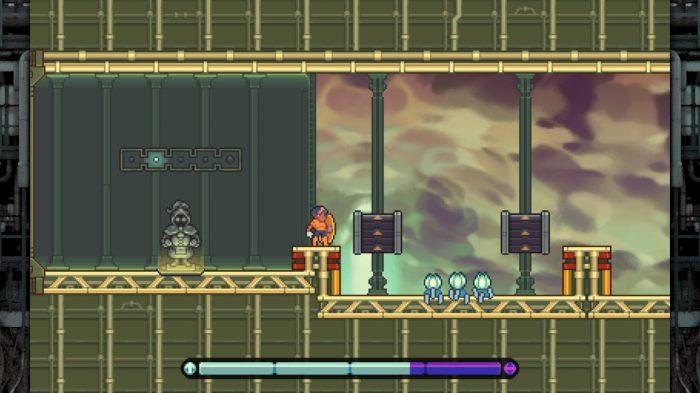 Even The Ocean Nintendo Switch Gameplay Screenshot