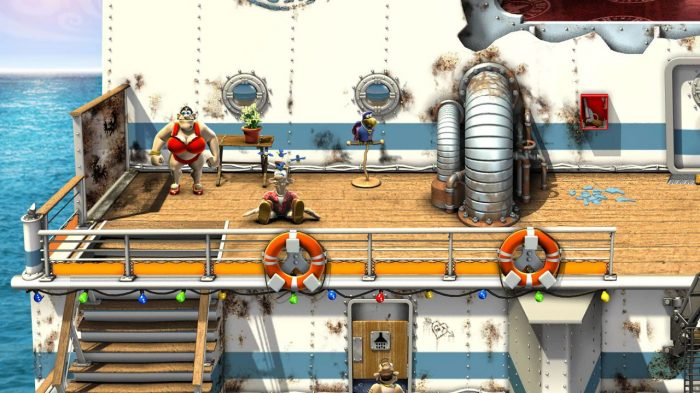 Neighbours back from Hell Nintendo Switch Gameplay Screenshot